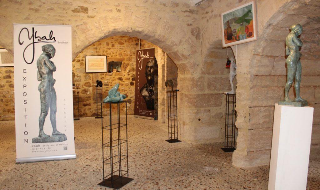 Exposition Ybah à Bellême 2021