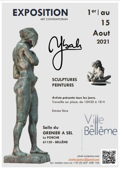 Exposition à Bellême (61) Août 2021