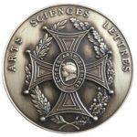 Médaille d'argent Académie Arts Sciences Lettres